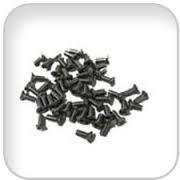 Skruv i rostfritt stål, M5x12 mm för portholes (Pris/per 50 st.)