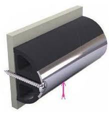 Instickslist i rostfritt stål för TRAP-S,10 x 2 mm (price per 20 m)