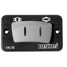 Kontrollpanel för fjärrstyrd kulventil 12 V