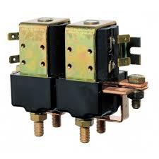 Dubbelrelä, 12 Volt/1500 Watt, för Simpson II (M6 anslutning)