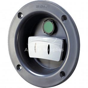 Kontrollpanel med vippbrytare, för infällt sidomontage, 112 mm (exkl. Signalkabel)