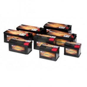 VETUS Underhållsfritt batteri, 125 Ah