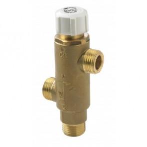 Termostatblandarventil för varmvattenberedare 30-70o C