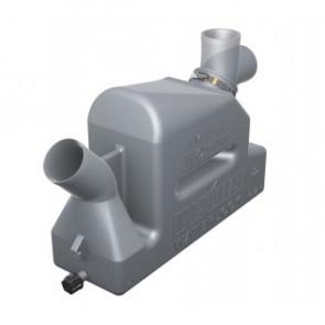 Vattenlås i plast typ LP45 med roterbar inloppsstos