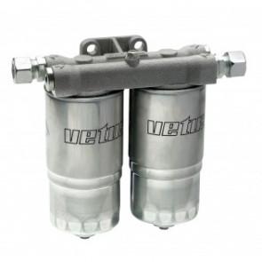 Vattenavskiljande bränslefilter typ WS180, komplett (kap. 720l/h)