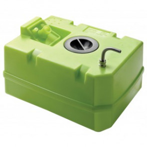 Vattentank i plast, 60 l, inkl. anslutningar och inspektionslock